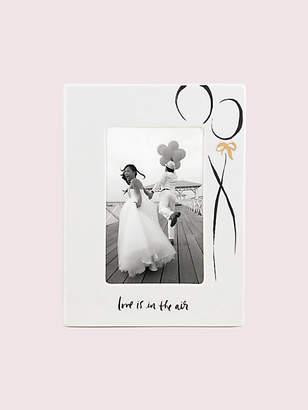 Kate Spade Bridal 4x6 Frame, White