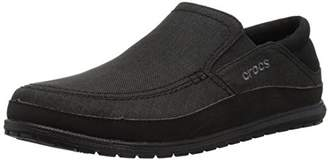 Crocs Men's Santa Cruz Playa Slip-on Loafer Flat
