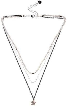 Nakamol Trisha Triple Lapis Necklace