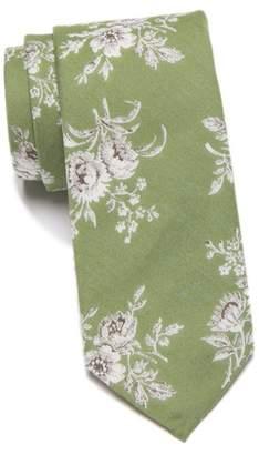 Original Penguin Gallagher Floral Skinny Tie