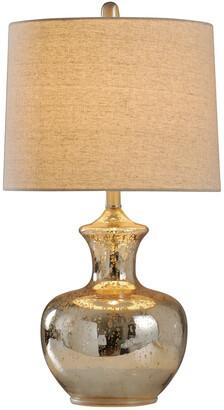 Stylecraft Style Craft 25In Mercury Glass Table Lamp