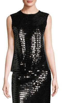 Marc Jacobs Sequin Sleeveless Shell Top