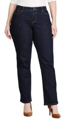 Lauren Ralph Lauren Plus Plus Size Slimming Modern Curvy Jeans