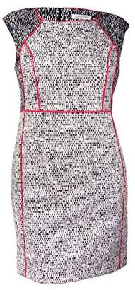 Calvin Klein Women's Empire Waist Textured Dress