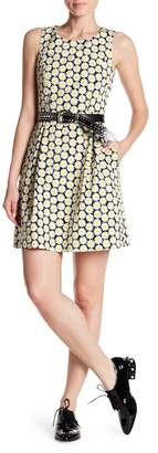 Love Moschino Sleeveless Floral Printed Dress