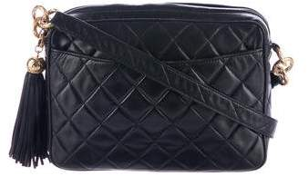 Chanel Vintage Quilted Camera Bag