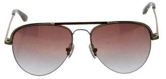 Equipment Aviator Gradient Sunglasses