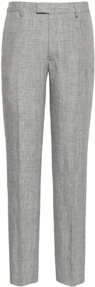 Banana Republic Heritage Slim Tapered Linen Suit Pant