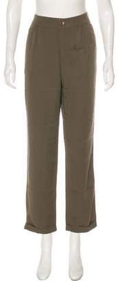 LK Bennett High-Rise Straight-Leg Pants w/ Tags