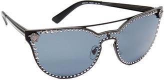 Versace Rock Brow Bar Sunglasses $375 thestylecure.com