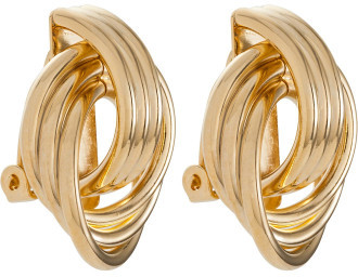 Gregory Ladner Large Knot Clip Earring