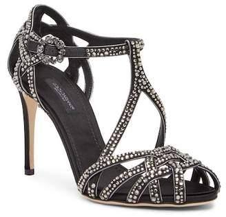 Dolce & Gabbana Crystal Embellished Ankle Strap Sandal