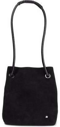 Halston Alism Suede Bucket Bag