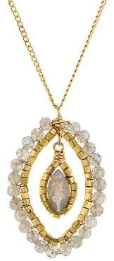 Dana Kellin Floating Stone Necklace, 16""