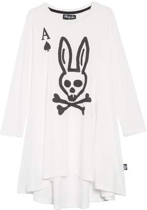 Plastic Jus Skull Bunny Ace Twirling Dress