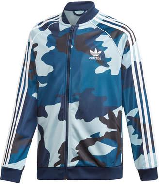 adidas Big Boys Original Tiro Hooded Windbreaker Jacket