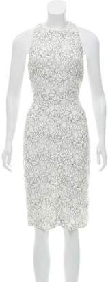 Nina Ricci Beaded Lace Dress