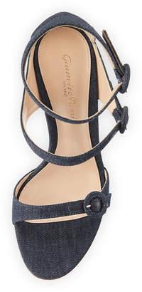 Gianvito Rossi 105mm Three-Strap Buckle Sandals