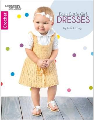 Leisure Arts Lacy Little Girl Dresses Bk