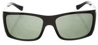 Persol Logo Tinted Sunglasses