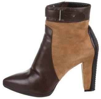 Belstaff Kerridge Leather Ankle Boots