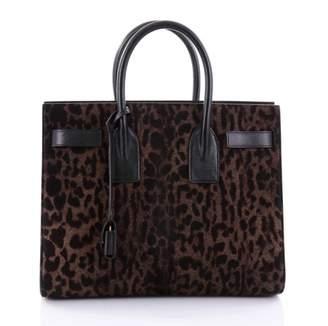 Saint Laurent Brown Leather Handbag