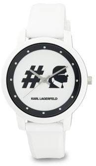 Karl Lagerfeld Stainless Steel Analog Strap Watch