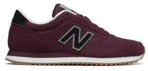 New Balance Lace-Up Suede Sneakers
