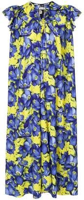 Balenciaga floral print dress