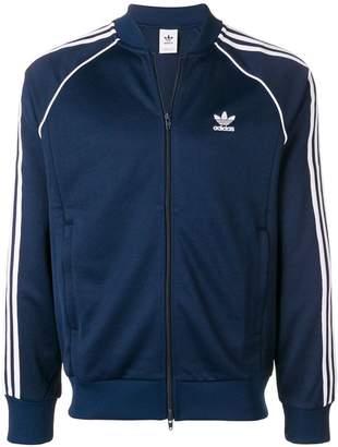 adidas zip front sports jacket