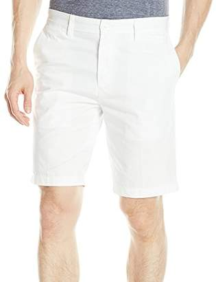 Nautica Men's Slim Fit Cotton Twill Flat Front Chino Short