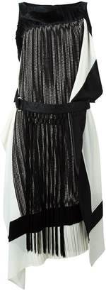 Antonio Marras fringed belted dress
