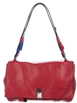 Proenza Schouler Leather Flap Shoulder Bag