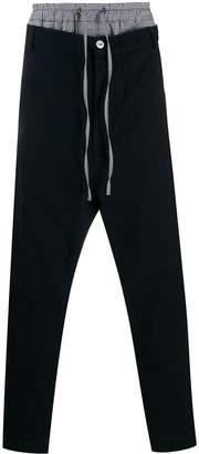 Vivienne Westwood drawstring contrast trousers