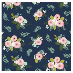 Garden Ranunculus Self-Launch Wrapping Paper
