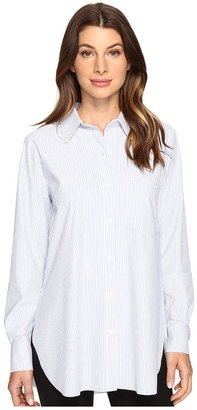 Lysse Schiffer Stretch Button Down $108 thestylecure.com