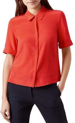 Hobbs London Ebony Silk Shirt