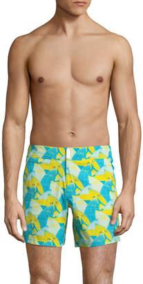 Vilebrequin Men's Patched Swim Trunks