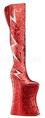 Pleaser USA Pink Label Men's Viva3016/r-Gg Boot