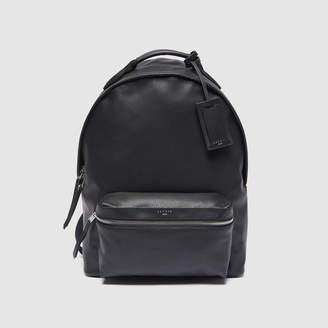 Sandro Coated Fabric Backpack