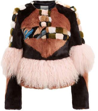 Alexis Kotto Faux Fur Jacket