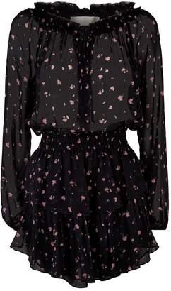 LoveShackFancy Love Shack Fancy Popover Floral Dress