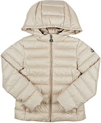 Moncler Quilted Tech-Taffeta Hooded Jacket $395 thestylecure.com