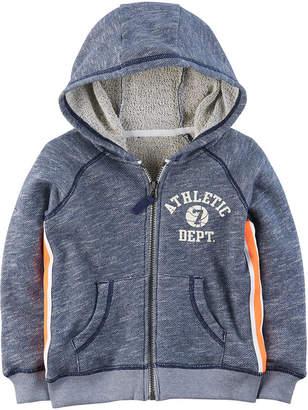 Carter's Hooded Zip UP Fleece-Preschool Boys