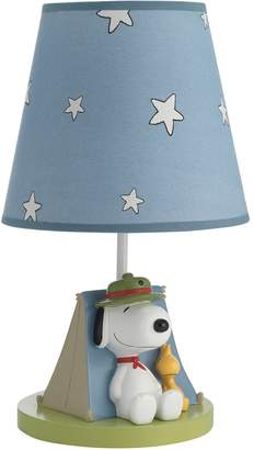 Lambs & Ivy Peanuts Snoopy's Campout Lamp