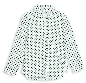 Burberry Little Kid's & Kid's Polka Dot Button-Down Shirt
