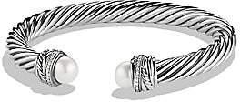 David Yurman Women's Crossover Bracelet with Pearls and Diamonds