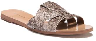 14th & Union Zaine Woven Faux Leather Sandal