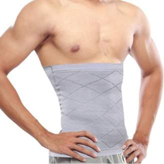 Tellsell Tummy Control Body Shaper Waist Slimming Belt For Men-(Grey) (XL)
