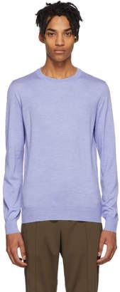 Brioni Blue Wool Sweater